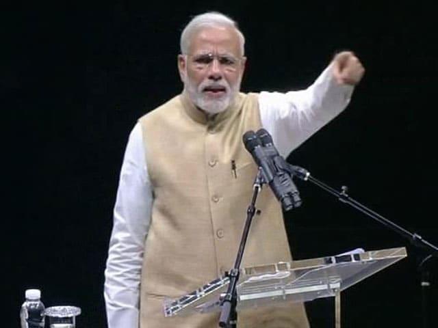 Video : In San Jose, PM Narendra Modi Takes 'Damaad' Swipe at Congress