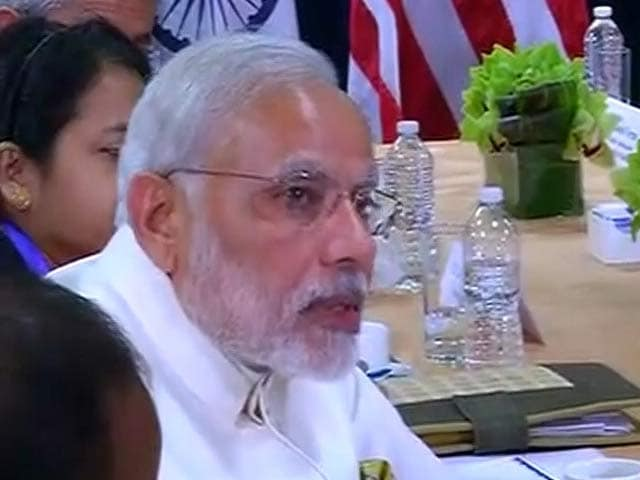 Video : Thank Obama for Support on India's Permanent Seat on UNSC, Says PM Modi