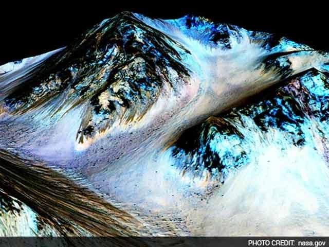 Videos : मंगल ग्रह पर भी बहता है पानी, नासा को पहली बार मिले स्पष्ट संकेत