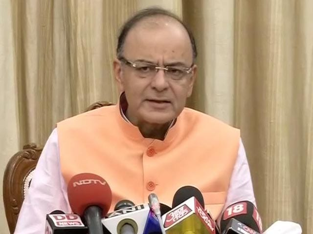 Video : Government Fully Committed to Fiscal Deficit Targets: Jaitley