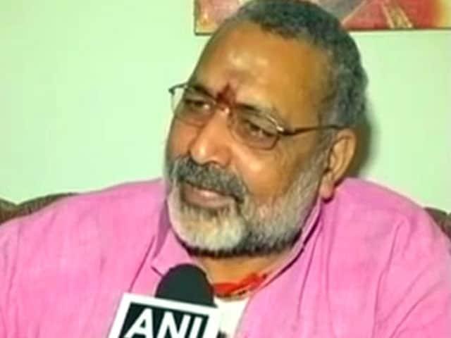Videos : ...तो बिहार में अगड़ा नहीं बनेगा मुख्यमंत्री, गिरिराज के बयान पर बीजेपी चुप्प