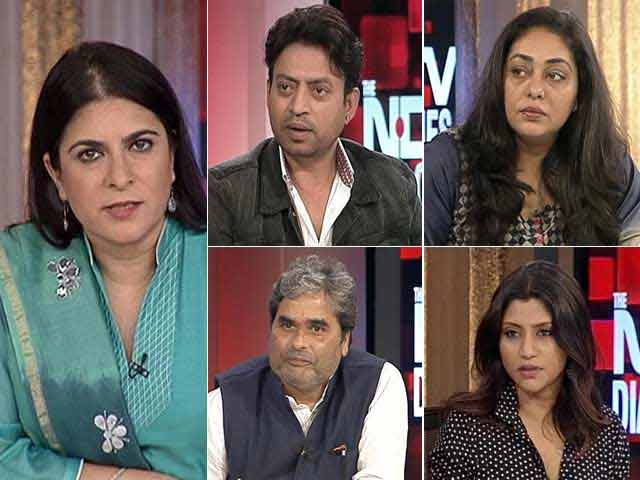 Video : <i>Talvar</i>: Irrfan Khan, Konkona and Vishal Bhardwaj Talk to NDTV