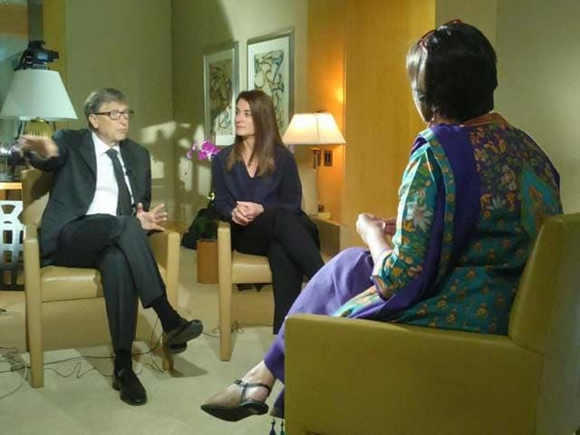 Video : Our Conversation With Daughters Same as Son: Bill and Melinda Gates