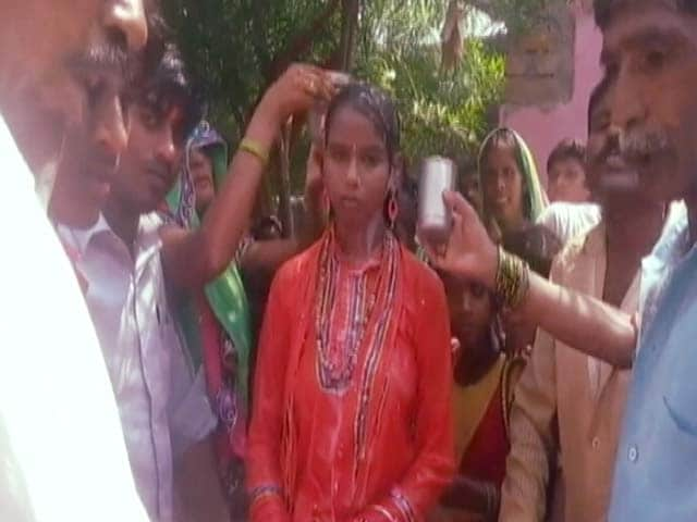 Video : In an Uttar Pradesh Village, a 'Junior Radhe Maa'