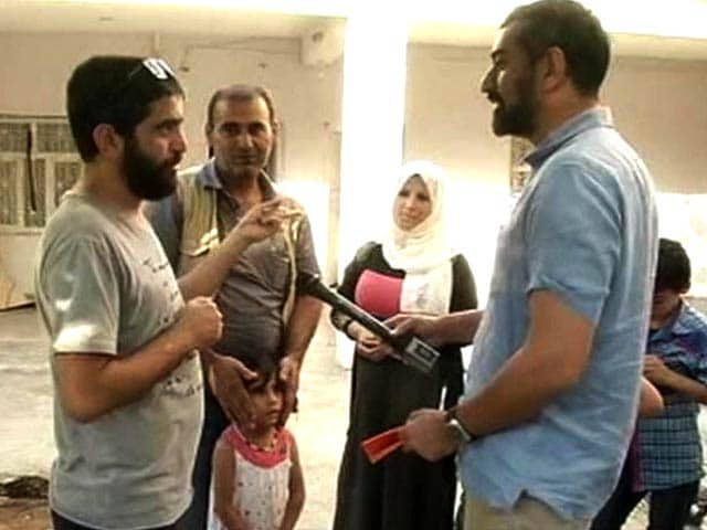 Video : NDTV Exclusive - We Don't Want To Go To Europe: The Other Reality of Syrian Refugees