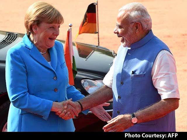 Video : Business First as German Chancellor Angela Merkel Meets PM Modi