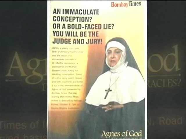 Video : Agnes of God Staged in Mumbai, Freedom of Speech Wins
