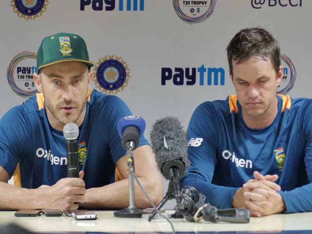 Video : South Africa's Bowling, Fielding 'Possibly the Best': Du Plessis