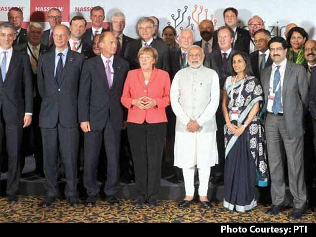 Video : In Bengaluru, PM Modi and Chancellor Merkel Discuss Digital Future Together