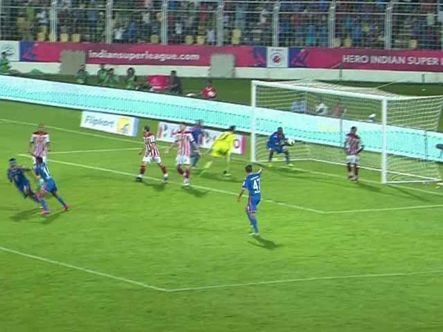 Video : Indian Super League: 10-Man Atletico de Kolkata Draw vs FC Goa