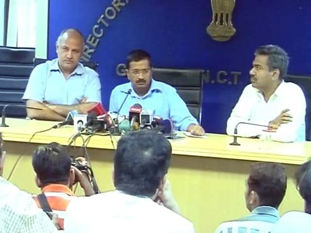 Video : Have Sacked Minister for Corruption, Announces Arvind Kejriwal on Live TV