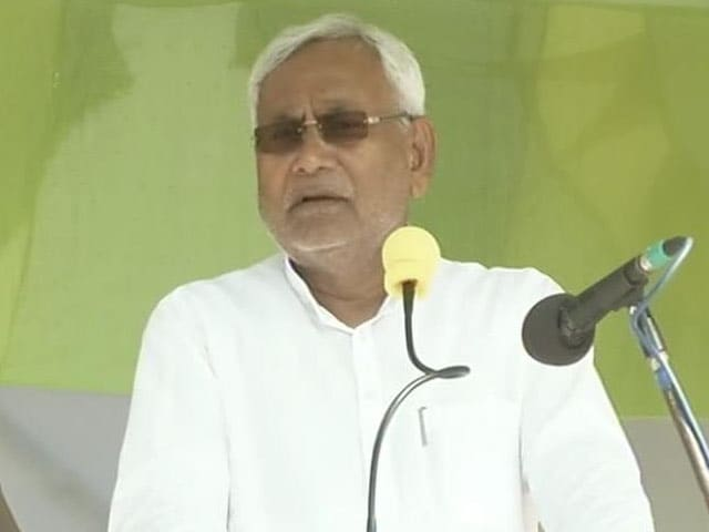 Video : Dearth of Leadership in BJP, Says Bihar Chief Minister Nitish Kumar