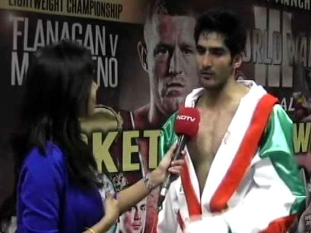 Video : Vijender Singh: I Don't Listen to Anybody Other Than My Coaches