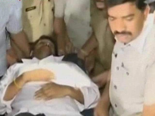 Video : Jagan Reddy, on Fast For a Week, Taken to Hospital as Health Worsens