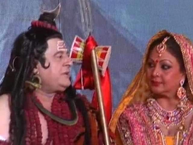 Video : Now Playing, Gajendra Chauhan as Lord Shiva, to a More Receptive Audience