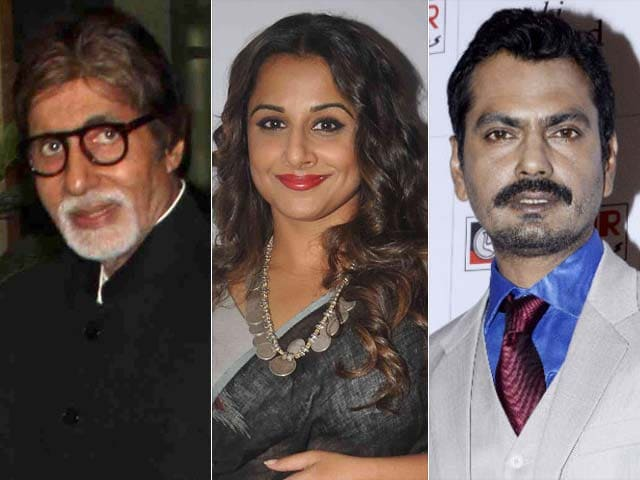 Video : Big B, Vidya, Nawazuddin Together in a Movie