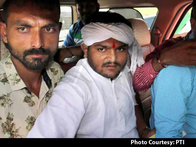 Video : Hardik Patel Charged With Sedition For 'Kill Cops' Remark