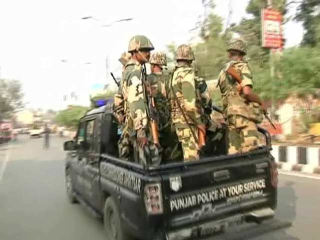 Video : Central Forces Deployed in Punjab, 2 Arrested