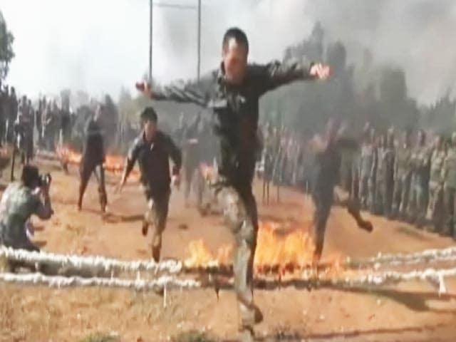 Videos : एक तरफ चीन और दूसरी तरफ जापान के साथ भारत का सैनिक अभ्यास