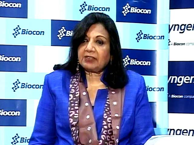Video : Kiran Mazumdar-Shaw Explains Biocon's Q2 Performance
