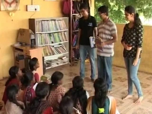Video : In Chennai, IITians Set Up Libraries for Under Privileged Children