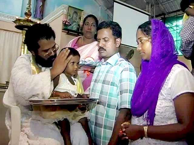 Video : Kerala Ends Festivities With Vidyarambham