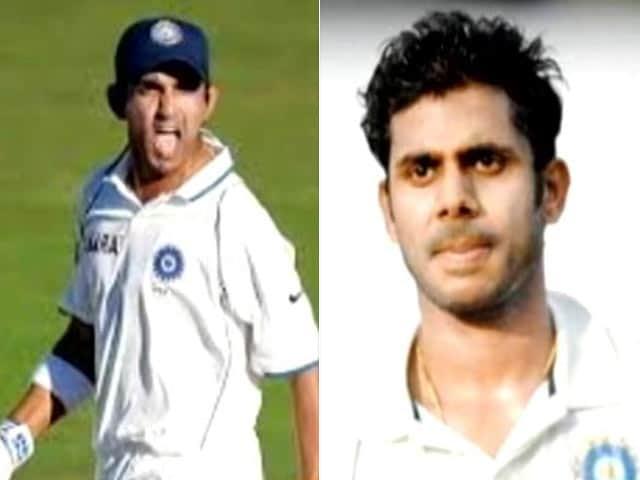 Video : Gambhir Threatens to Beat Manoj Tiwary Up During Ranji Game