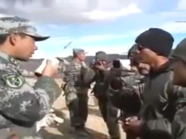 Video : 'Not Your Bloody Area,' How Indian and Chinese Soldiers Faced Off in Ladakh