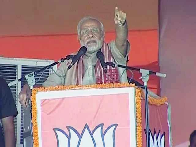 Video : Nitish, Lalu Made Youth Of Bihar Migrants, Says PM Modi at Chhapra Rally