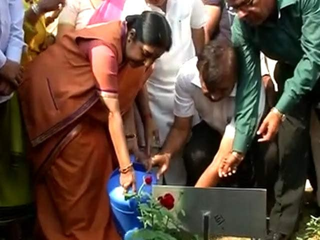 Video : Garden Signifying India-Africa Friendship Inaugurated Ahead of Summit