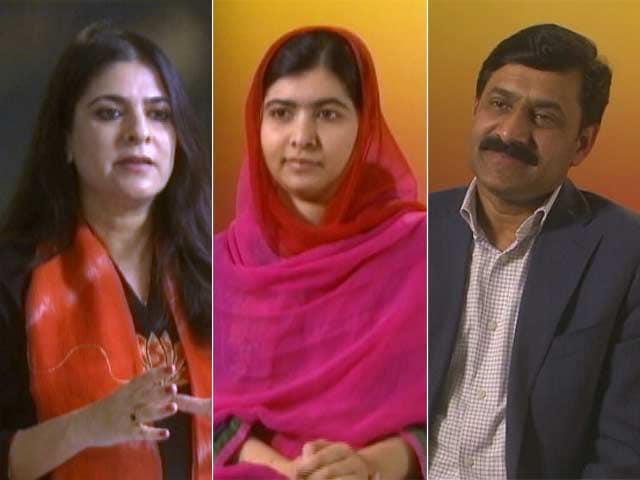 Video : The NDTV Dialogues With Malala, Ziauddin Yousafzai