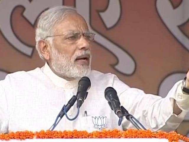 Video : 'Does India Want Mantra-Tantra or Loktantra?' PM Modi in Bihar