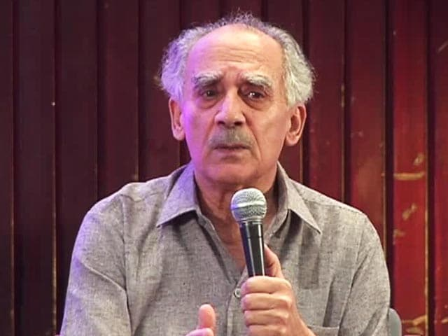 Video : There Has Never Been a Weaker Prime Minister's Office: Arun Shourie