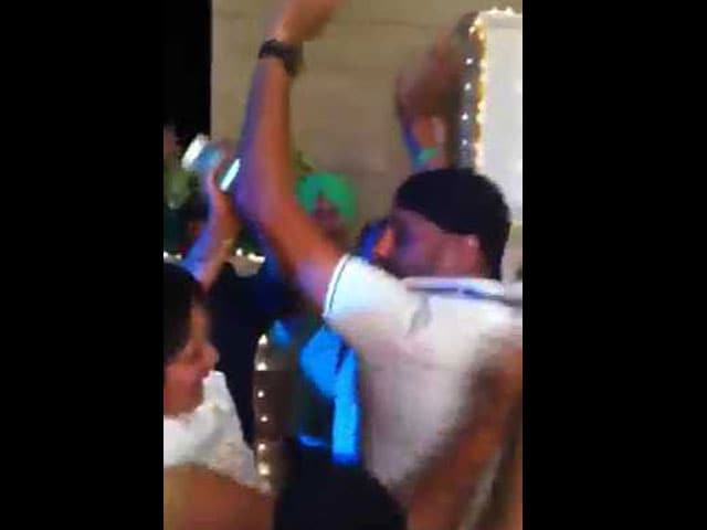 Video : Harbhajan Singh, Geeta Basra Warm up for Wedding Day