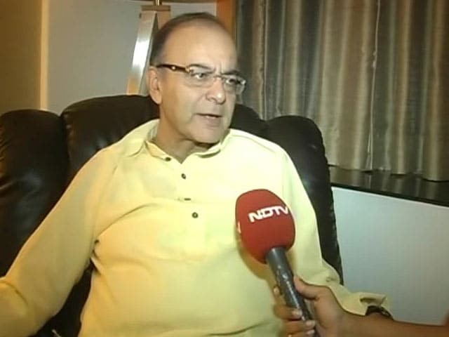 Video : Bihar Election About Chemistry, Not Arithmetic: Arun Jaitley