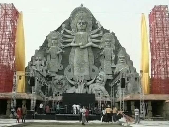 Video : Tallest Durga Idol to be Kolkata's New Landmark