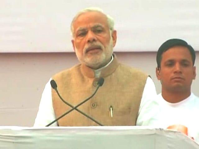 Video : 'Sardar Patel Didn't Indulge in Dynastic Politics', Says PM Modi
