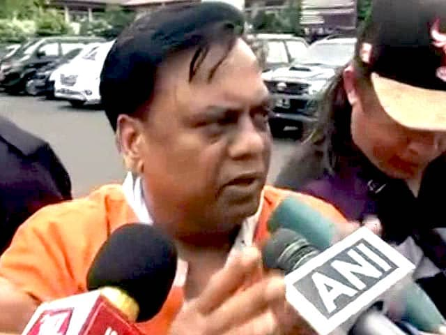Video : Chhota Rajan Claims 'Some Mumbai Cops' Linked To Dawood Ibrahim