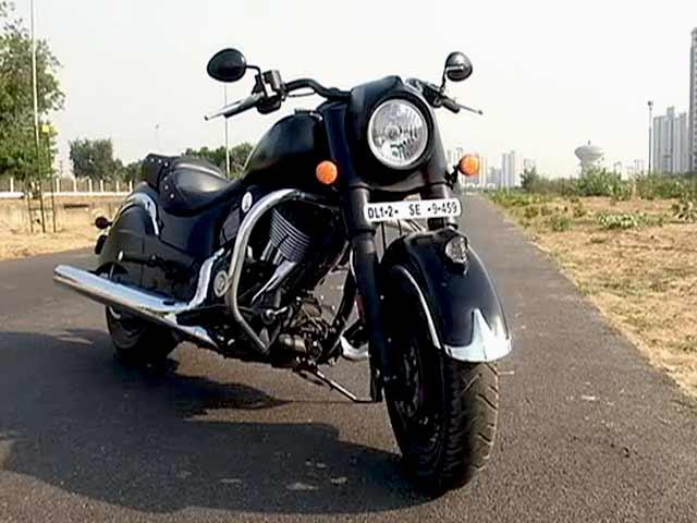 Indian Dark Horse: Cruiser With Attitude