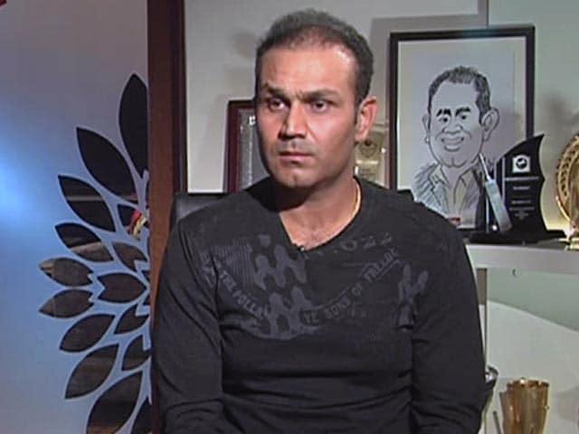 Videos : क्रिकेट के मैदान से विदाई न होने का वीरेंद्र सहवाग को रहेगा मलाल