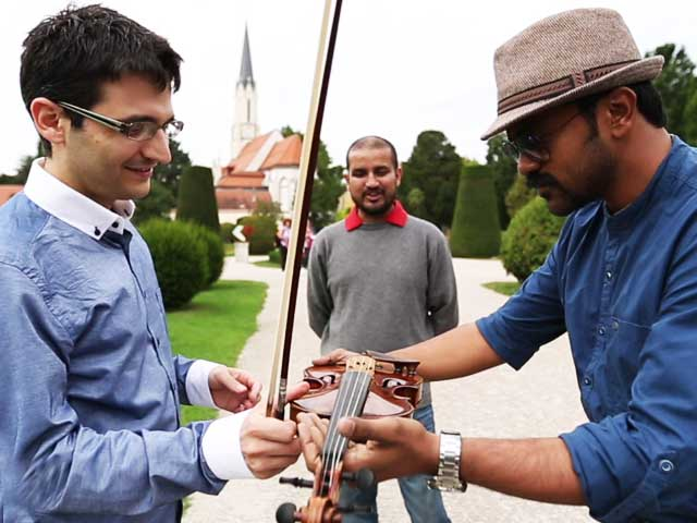 Video : #GLAadventure's Europe Travel Diary: Violin Lessons in Vienna, the City of Music