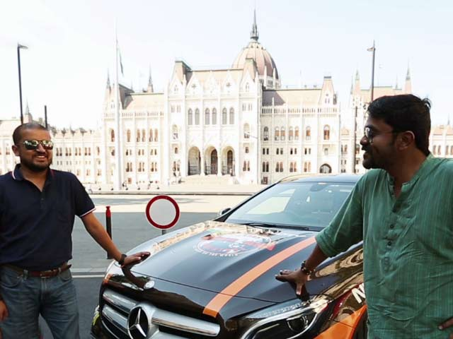 Video : #GLAadventure Exploring the Historic Sites of Budapest