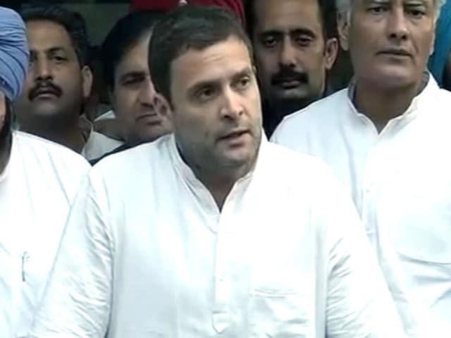 Videos : पंजाब दौरे में राहुल गांधी ने किसानों से जानी उनकी समस्याएं