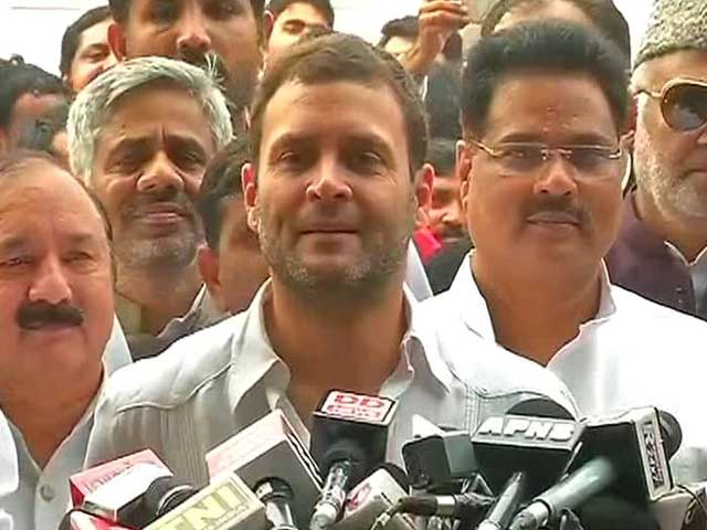 Video : 'PM and BJP Must Shed Their Arrogance', Says Rahul Gandhi