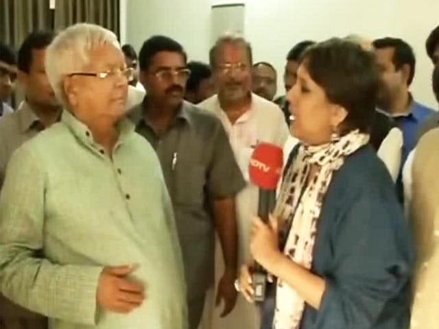 Video : Exclusive: 'PM Modi Should Quit And Go Back To Gujarat,' Says Lalu
