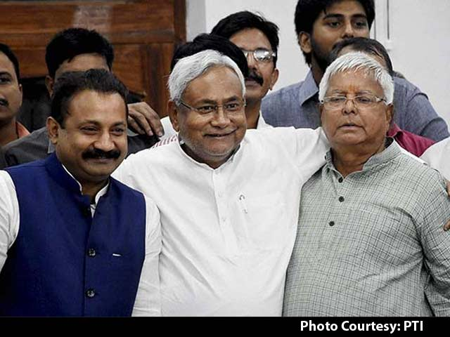 Video : More Ministers For Lalu in Nitish Formula; Oath Likely On November 20