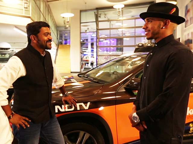 Video : The Team Meets Lewis Hamilton and Nico Rosberg On the Great Overland Adventure
