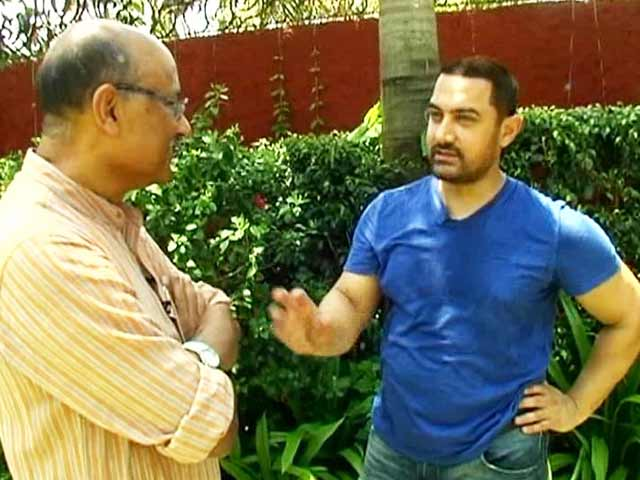 Video : Walk The Talk With Aamir Khan