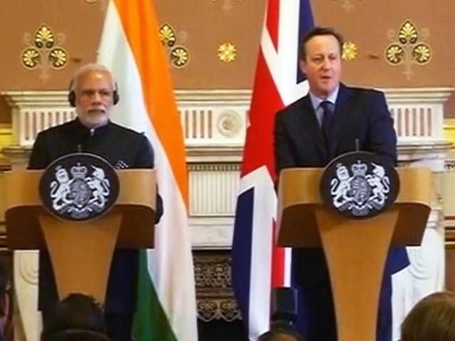 Videos : आतंक के खिलाफ हम साथ : भारत-ब्रिटेन का साझा बयान