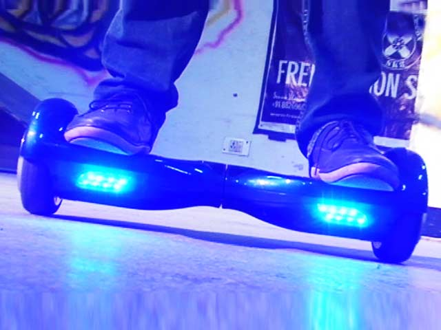 Video : Airboard: Next Generation Skateboard